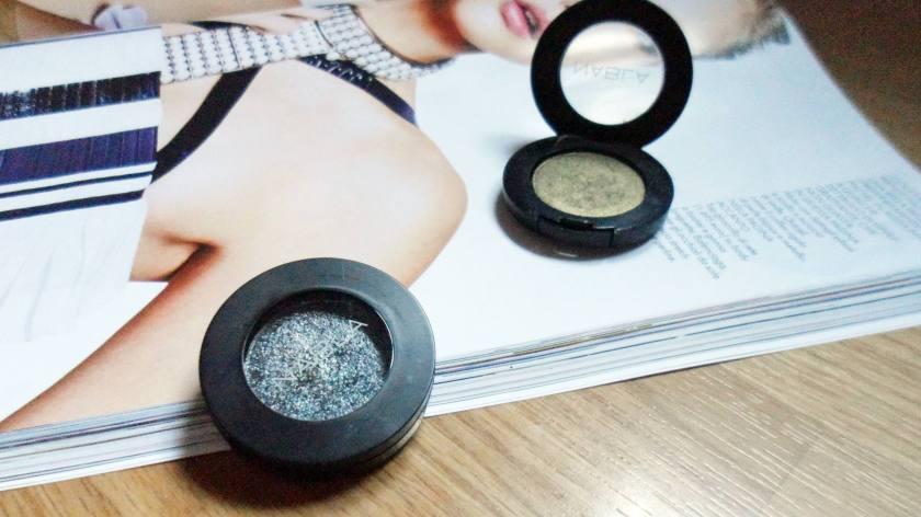 Nabla eyeshadows- Futura and Extravirgin